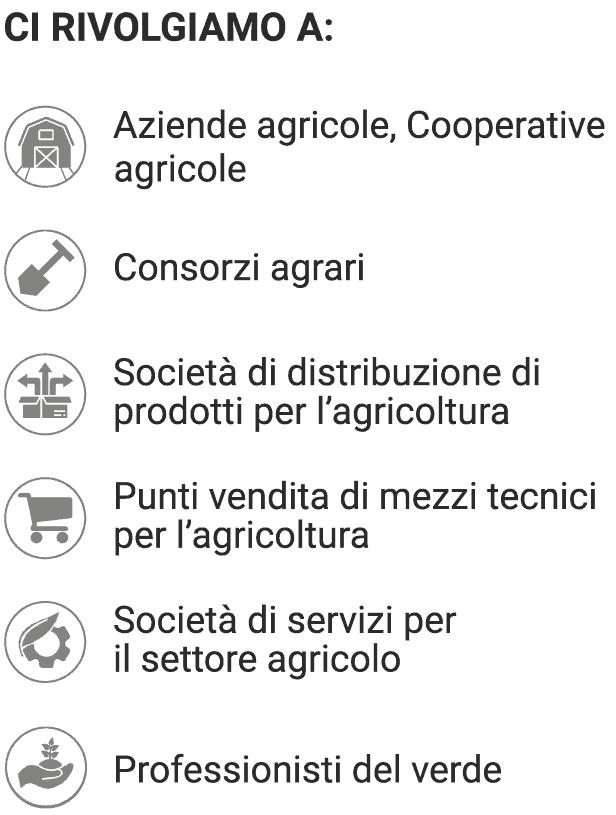 A chi si rivolge Dom Terry Agrisolutions - Innovazione in Agricoltura