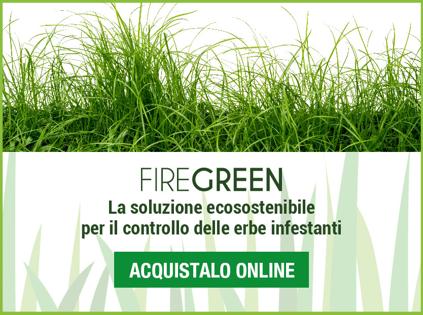 firegreen per il controllo delle erbe infestanti
